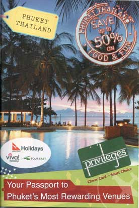 Phuket discount card, Phuket privileges, Phuket discount dining, Phuket discount golf, Phuket discount spa, Phuket discount nightlife, Phuket discount clubbing